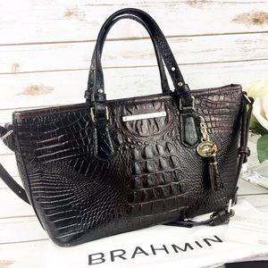 Brahmin Mini Asher - Cocoa